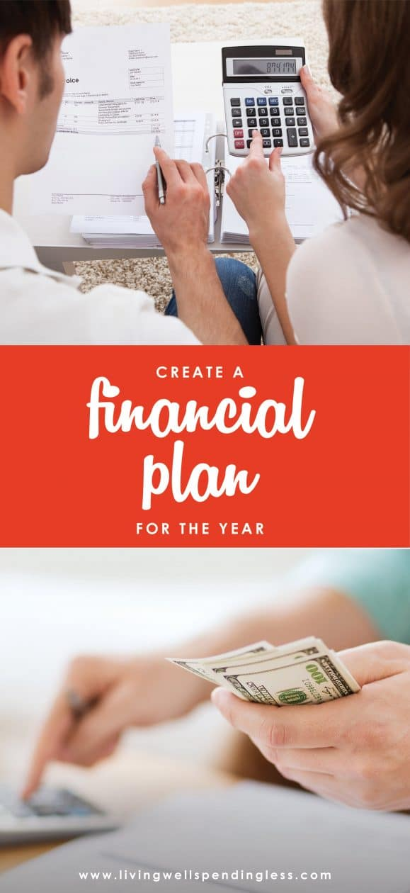 January is a month of new beginnings and resolutions. Aim for financial success this year with this super-easy 3-step financial action plan for January.