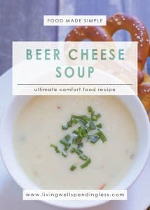 Easy Beer Cheese Soup | Ultimate Comfort Food | Superbowl Recipes| Classic Winter Recipes| Super Simple Recipes | Vegetarian Recipes