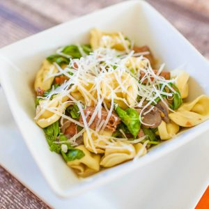 Spinach & Sausage One Pot Pasta   Easy Freezer-to-Crockpot Recipe   Food Made Simple   Comfort Food   Pasta Recipe