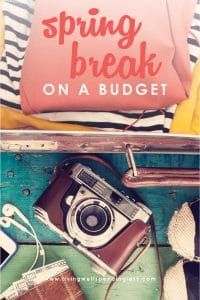 Want to plan an awesome spring break but not sure if your budget can handle it? Don't miss these smart tips for planning an awesome spring break getaway or staycation...without breaking the bank or going into debt.