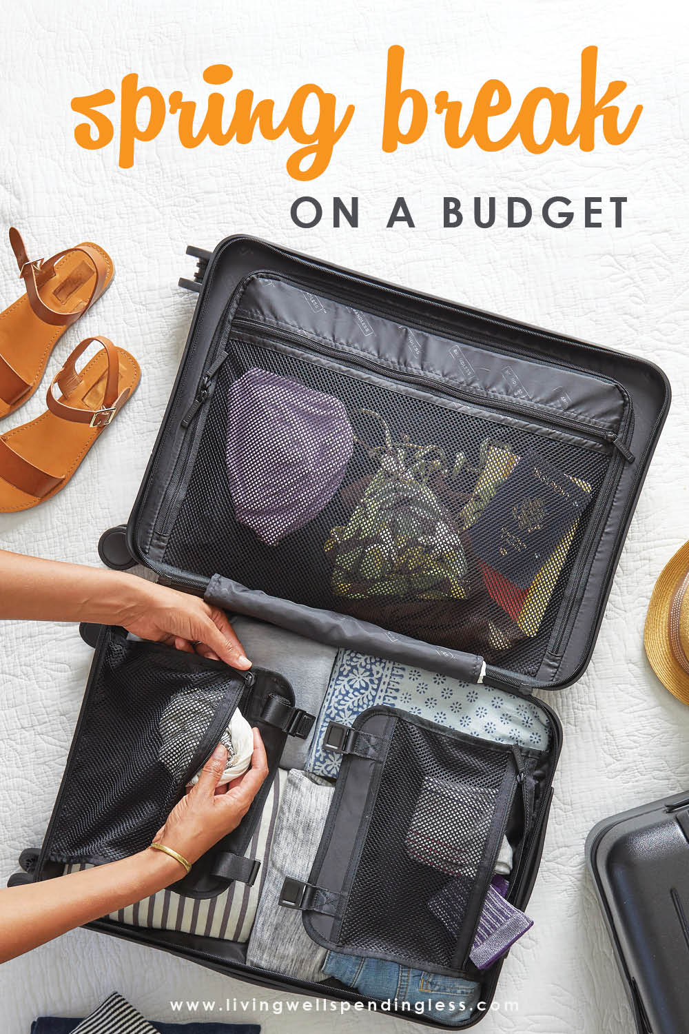 Want to plan an awesome spring break but not sure if your budget can handle it? Don't miss these smart tips for planning an awesome spring break getaway or staycation that won't break the bank or have you going into debt. Awesome ideas that get the whole family involved! #vacation #vacationtips #springbreak #budgeting #budgettips #budget #staycation