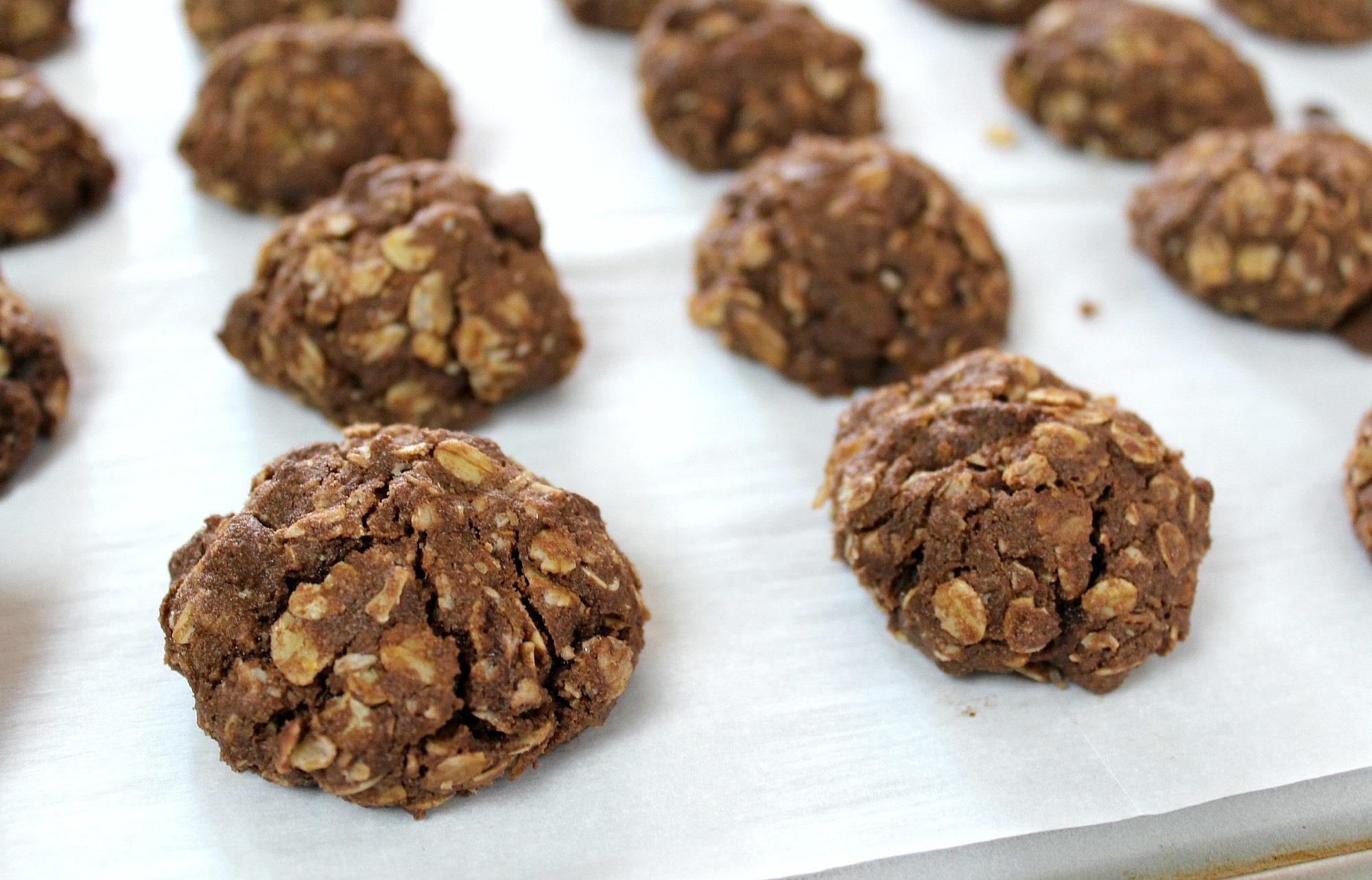 Gluten Free Double Chocolate Rebel Cookies