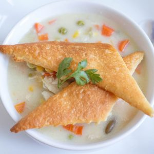 Easy Chicken Pot Pie   Freezer to Crock Pot Meal   Chicken Recipe  Comfort Food Made Simple   Meal Planning