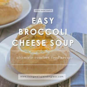 Easy Broccoli Cheese Soup | Ultimate Comfort Food Recipe | Food Made Simple | Best Soup Recipes