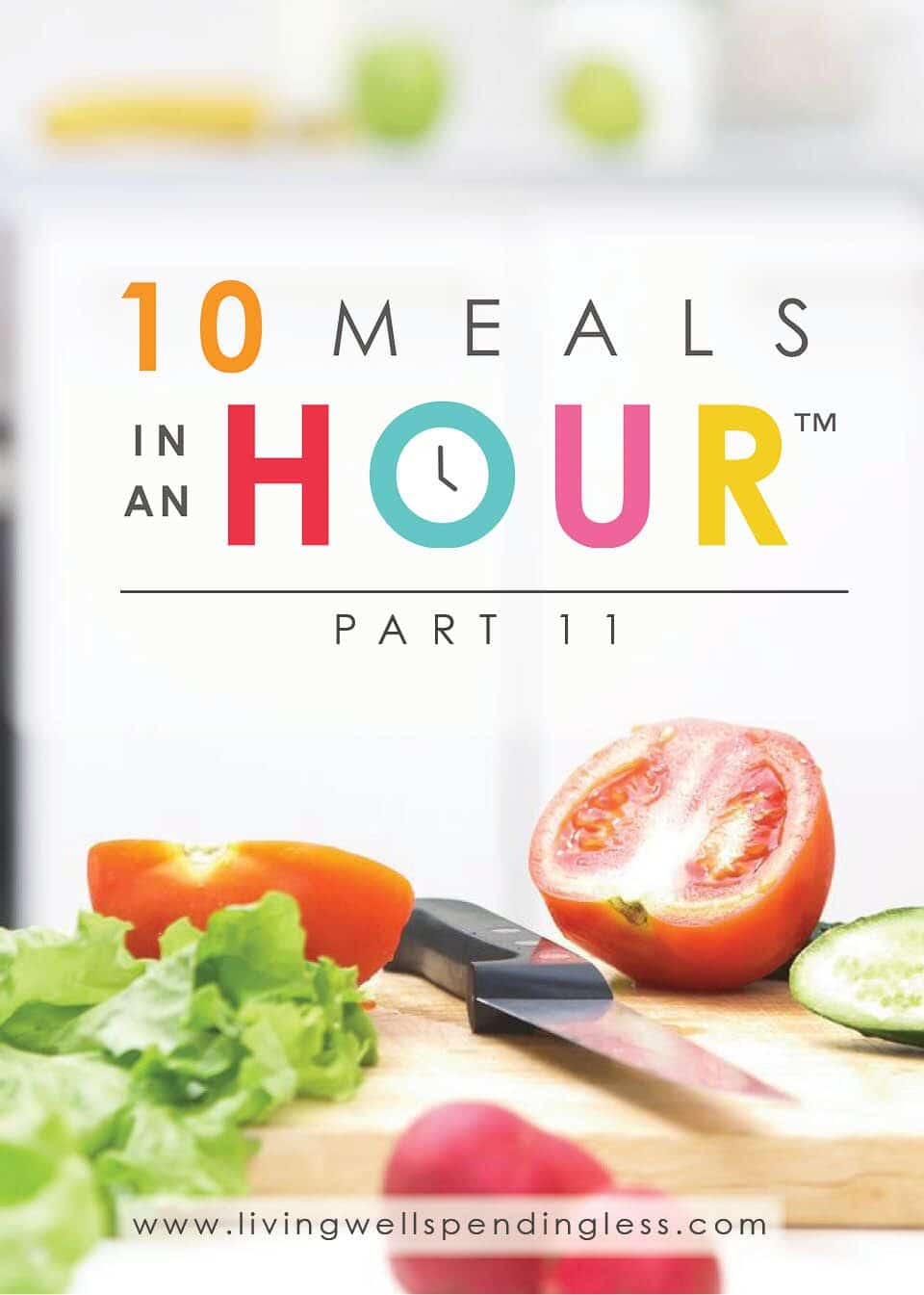 10 Meals in an Hour™ Part 11 | Easy Freezer Cooking Meal Plan | Food Made Simple