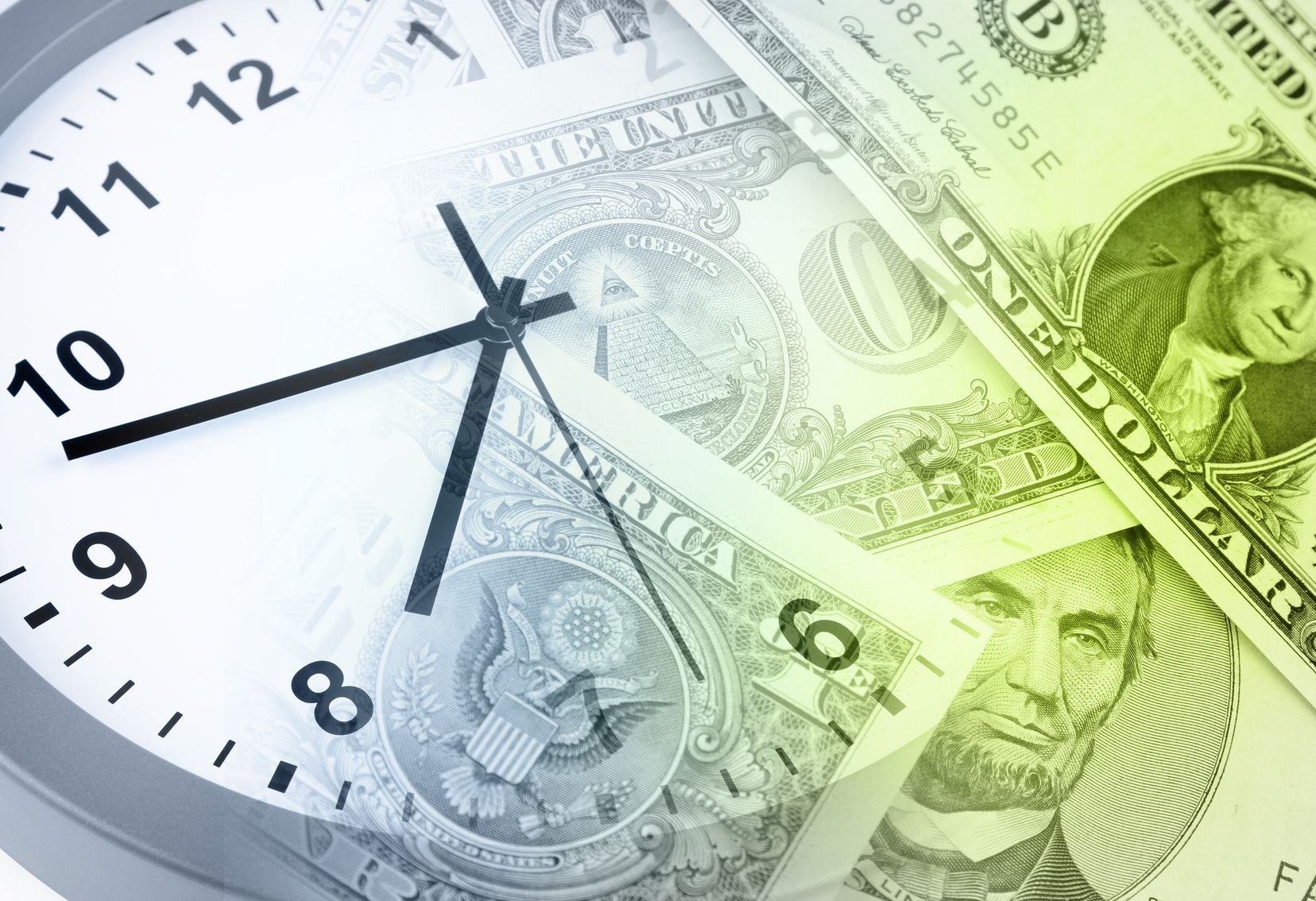 Getting your finances in order takes some time so be patient - it can't happen over night