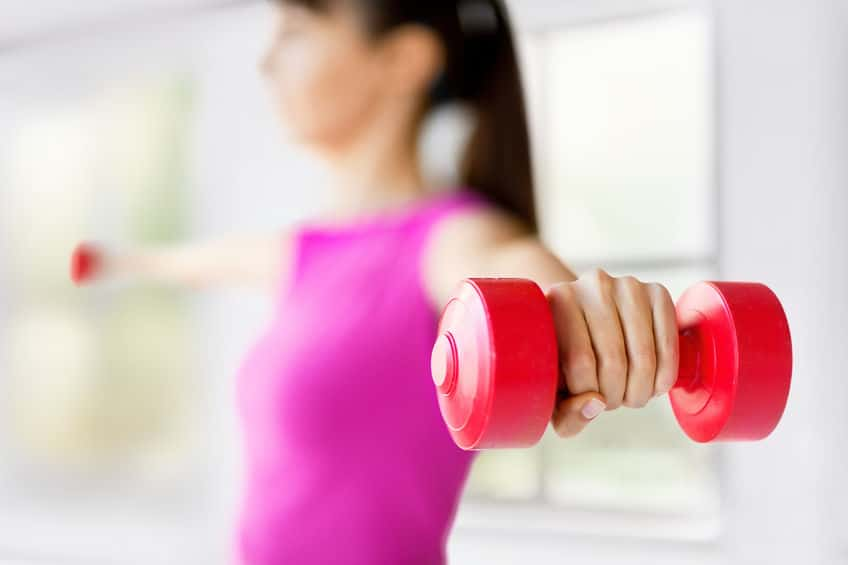 There are so many reasons why adding strength training to your quick workouts at home is beneficial!
