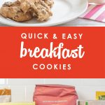 Are chaotic mornings getting the best of you? Breakfast is the most important meal of the day, but sometimes that's easier said than done. Luckily these Quick & Easy Breakfast Cookies are chock full of healthy goodness, taste great, and are freezer friendly too! The perfect solution for a healthy snack or breakfast on the go!