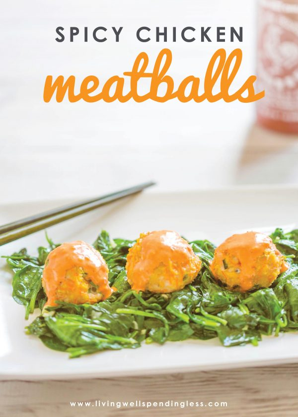 These chicken meatballs are not only super simple to make and freezer friendly but are full of flavor and perfect as an appetizer or full meal!