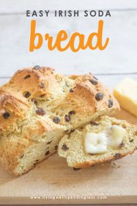 There's nothing that warms the soul--or fills your belly--like delicious homemade bread! But finding time to bake? Well that's a different story! Luckily for all of us, this oh-so-yummy Irish Soda bread comes together fast with just a handful of ingredients. It's perfect for St. Patrick's Day, or maybe just because!