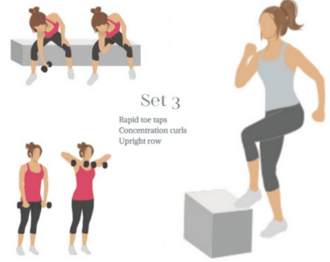 Finish strong with set 3 of quick workouts at home!