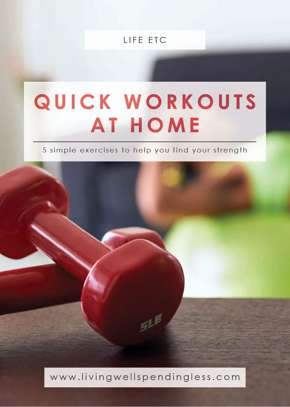 Check out these five reasons adding strength training to quick workouts at home is beneficial.