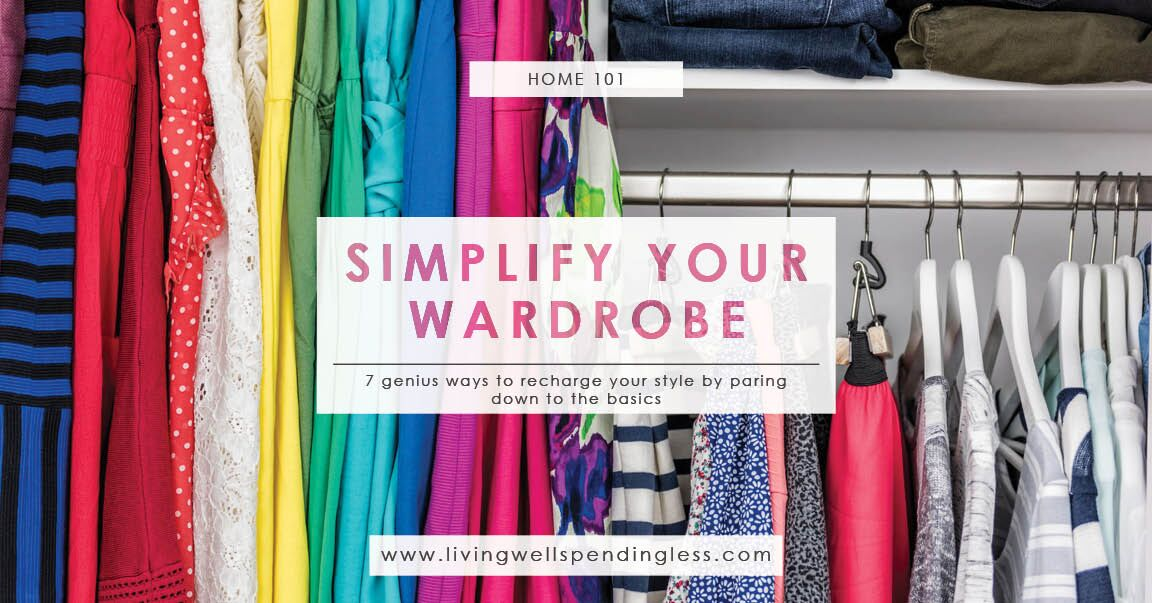 Simplify Your Wardrobe | Smart Ways to Declutter Your Closet