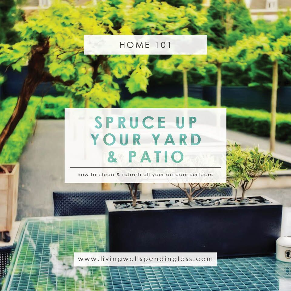 How to Clean Outdoor Surfaces | Cleaning Tips | Outdoor Cleaning Tips | Spring Cleaning for all Outdoor Surfaces