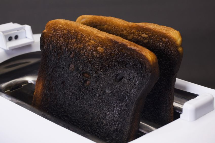 Deoderize your kitchen from the burnt toast and food smells as part of spring cleaning.
