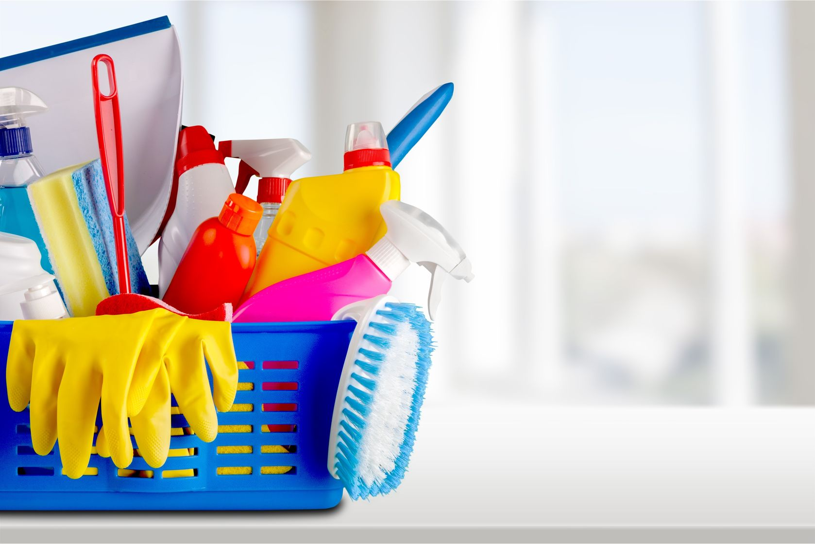 Cleaning your home is essential for staying organized.