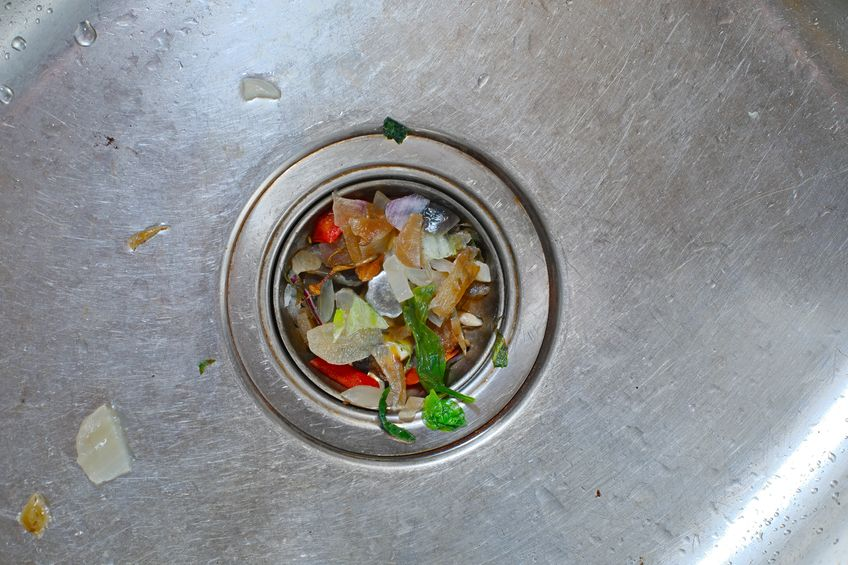 Be sure to clean out your garbage disposal to keep your sink tidy.