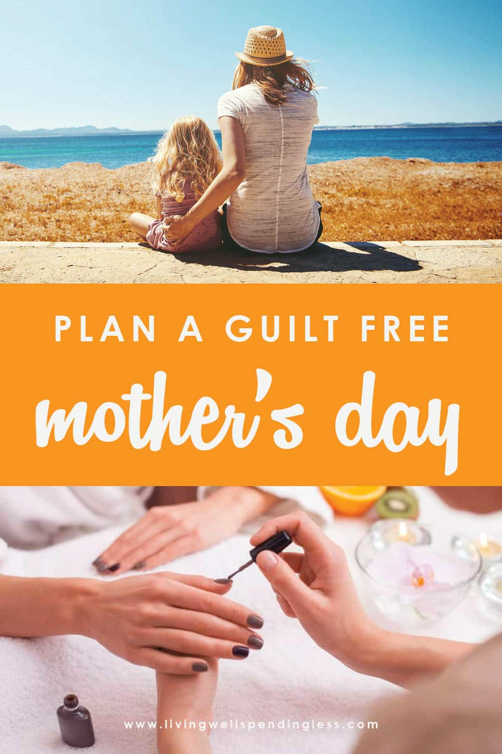 Mother's Day is YOUR day – and you deserve to be celebrated! So don't feel guilty for enjoying some self-love! And if you need some ideas on what to even do, don't miss these awesome tips for planning your own guilt-free Mother's Day! You deserve it. #mothersday2020 #mothersday #mothersdayideas #selfcare #momlife #wifelife #mompreneur #momsdayout