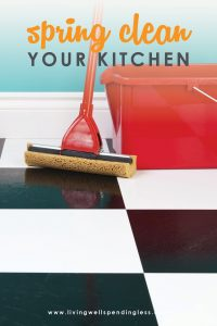 There's nothing worse than a funky-smelling kitchen, but spring is the perfect time to clear the air and get every surface sparkling clean!