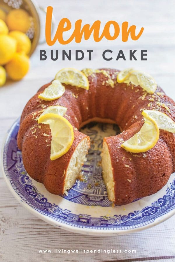 Love lemon? This simple & delicious homemade lemon bundt cake is absolutely amazing with just the right amount of sweetness and fresh lemon flavor. Best of all, with healthy ingredients like real essential oil, and Greek yogurt, it's a dessert you can feel good about!