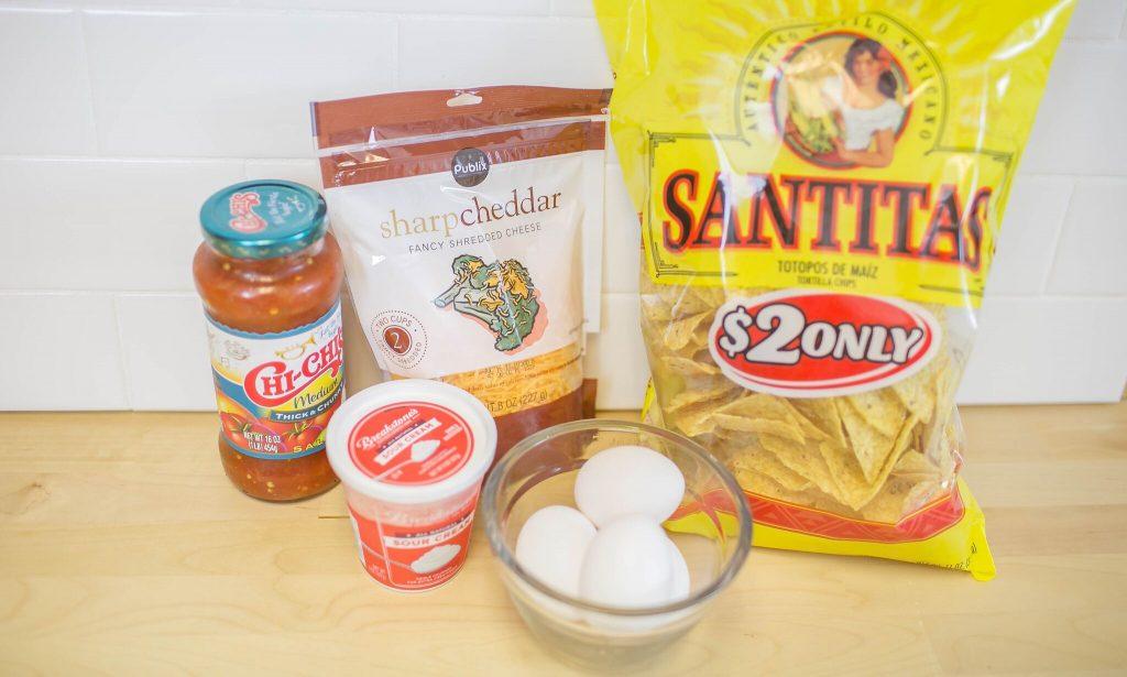 Breakfast Nachos ingredients
