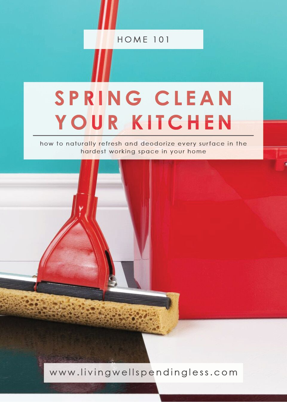 7 Ways to Deodorize Your Kitchen | Spring Clean Your Kitchen | Green and Thrifty Cleaning products