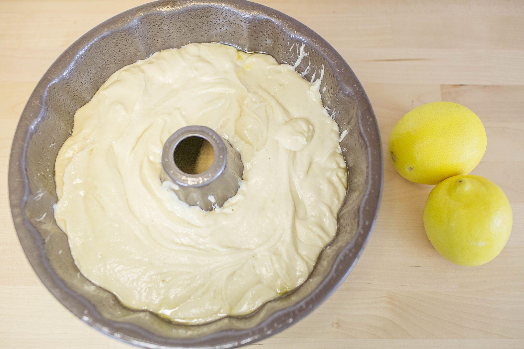 Lemon Bundt Cake Dessert