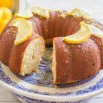 Lemon Bundt Cake | Lemon Desserts | Easter Desserts | Dessert Recipes with Young Living Vitality Oils