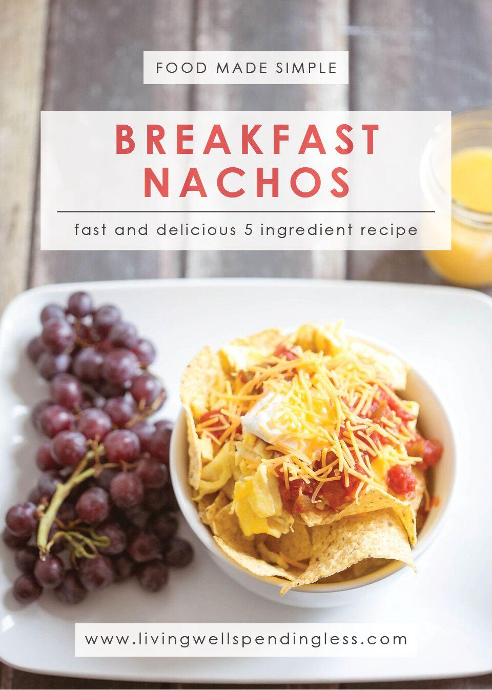 Breakfast Nachos | Gluten Free Breakfast | Fun Breakfast Recipe | Kid Friendly Breakfast Recipe | 5 Ingredient Recipe