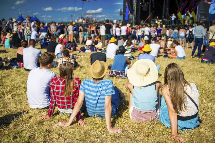 Summer concerts in the parks in your community are a great, budget friendly family activity