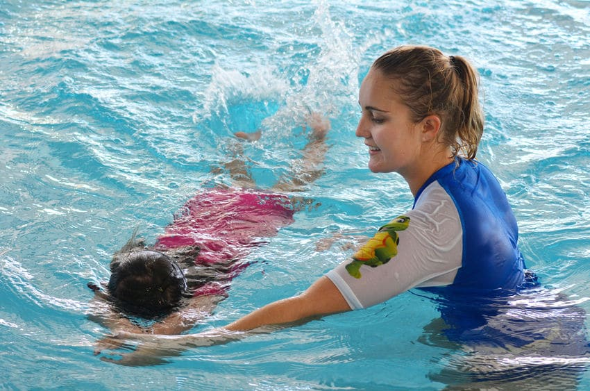 Private swimming lessons for your child are a great idea for staying active.