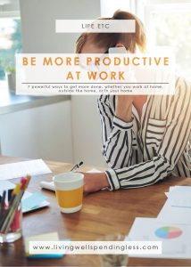 How to Be More Productive at Work | Tips for Productivity | Be Productive at Work | Work Smarter | Time Management