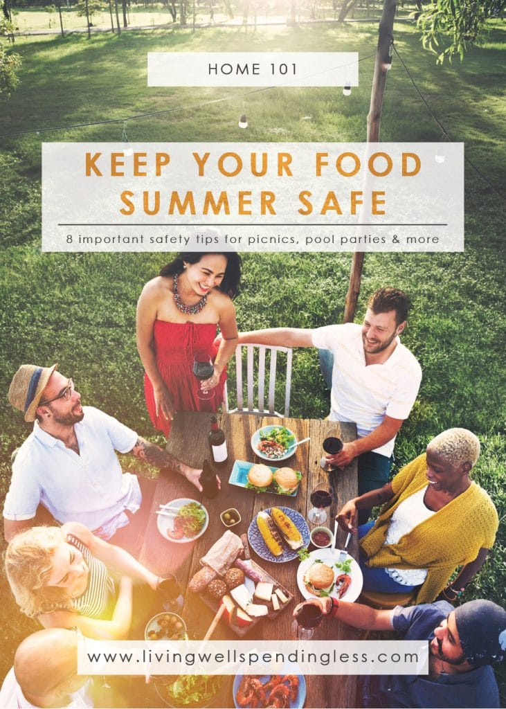 Food Safety Tips for Summer   Summer Party Tips   Summer Food Safety