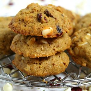 Oatmeal Craisin Cookies | Gluten Free Oatmeal Cookies | Great Cookies for Teacher Appreciation | Oatmeal Chocolate Craisin Cookies