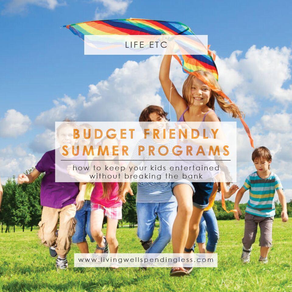 Budget-Friendly Kids Programs | Summer Programs for Kids | Tips for Parents