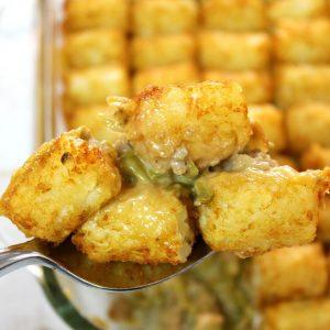 Tater Tot Casserole | Simple Gluten Free Recipe | Easy Meals | Simple Weeknight Meals |