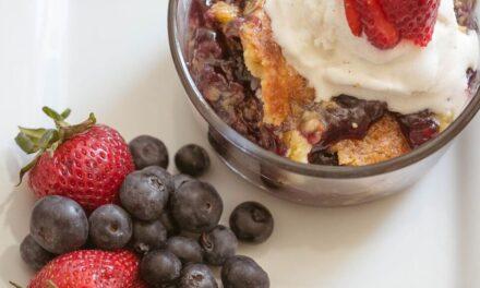 Easy Blueberry Bake