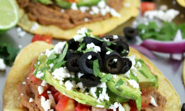 Quick & Easy Avocado Tostadas