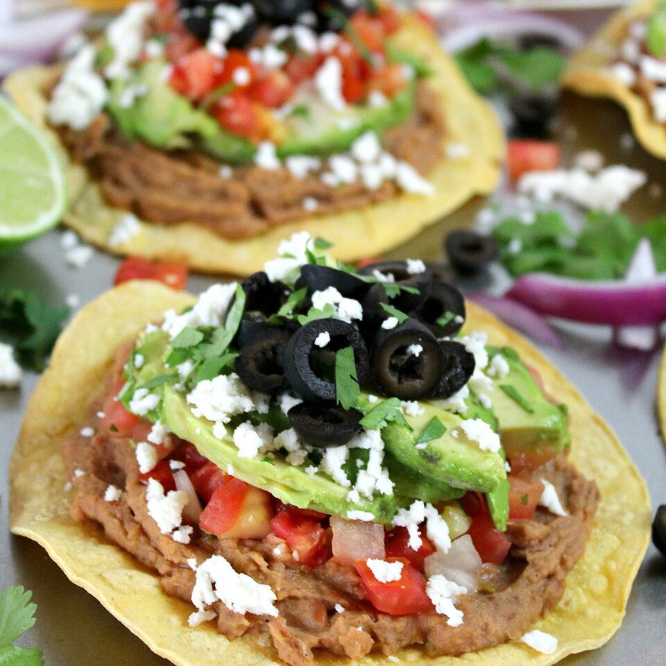 Whether you are making dinner for yourself or a crowd, these delicious Avocado Tostadas are sure to impress! Fresh and flavorful ingredients come together fast for a quick & easy weeknight meal your whole family will love!