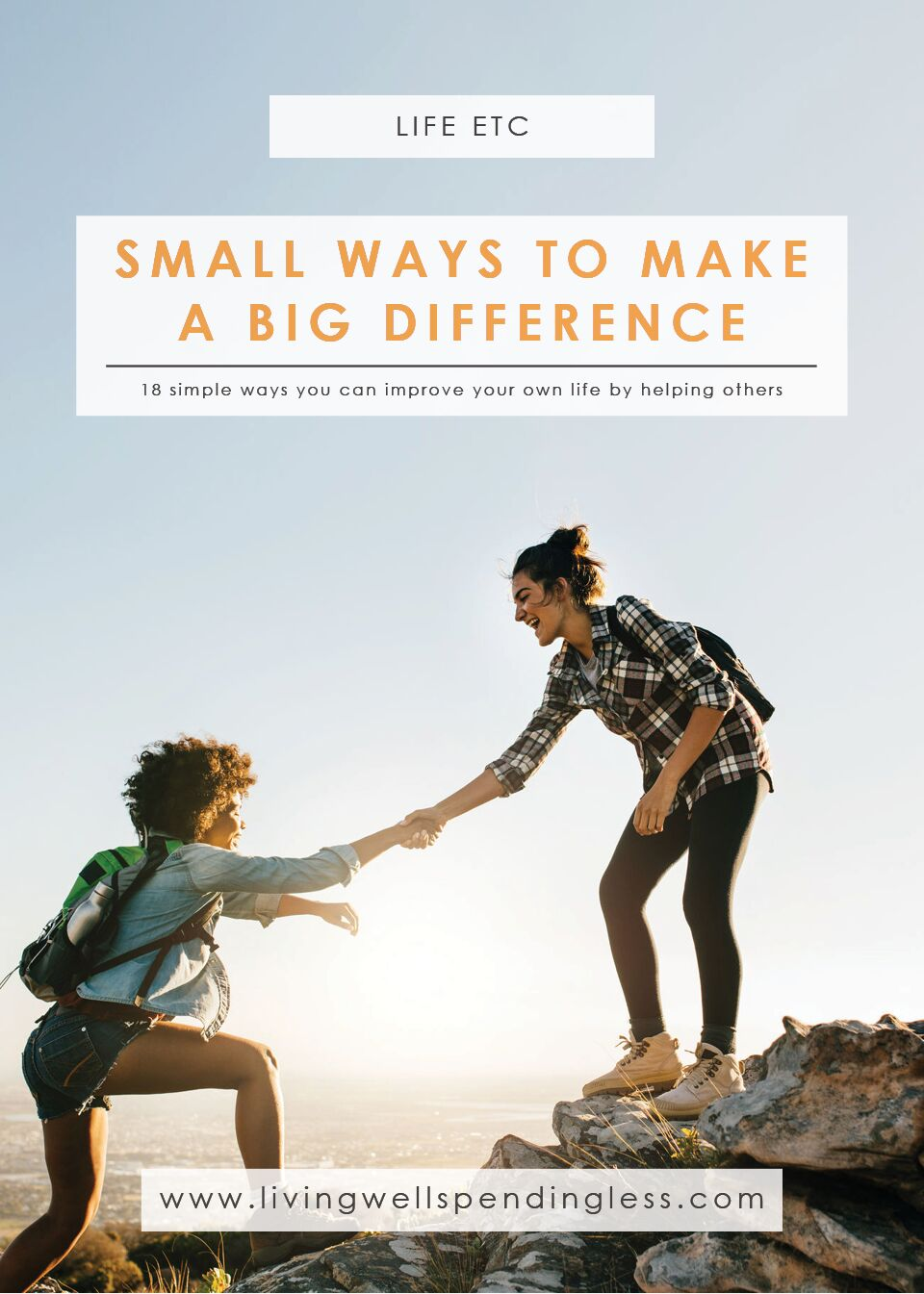 18 Ways to Make a Difference | Easy Ways To Give Back | Giving Back | Acts of Kindness | Making a Difference | Volunteer Opportunities