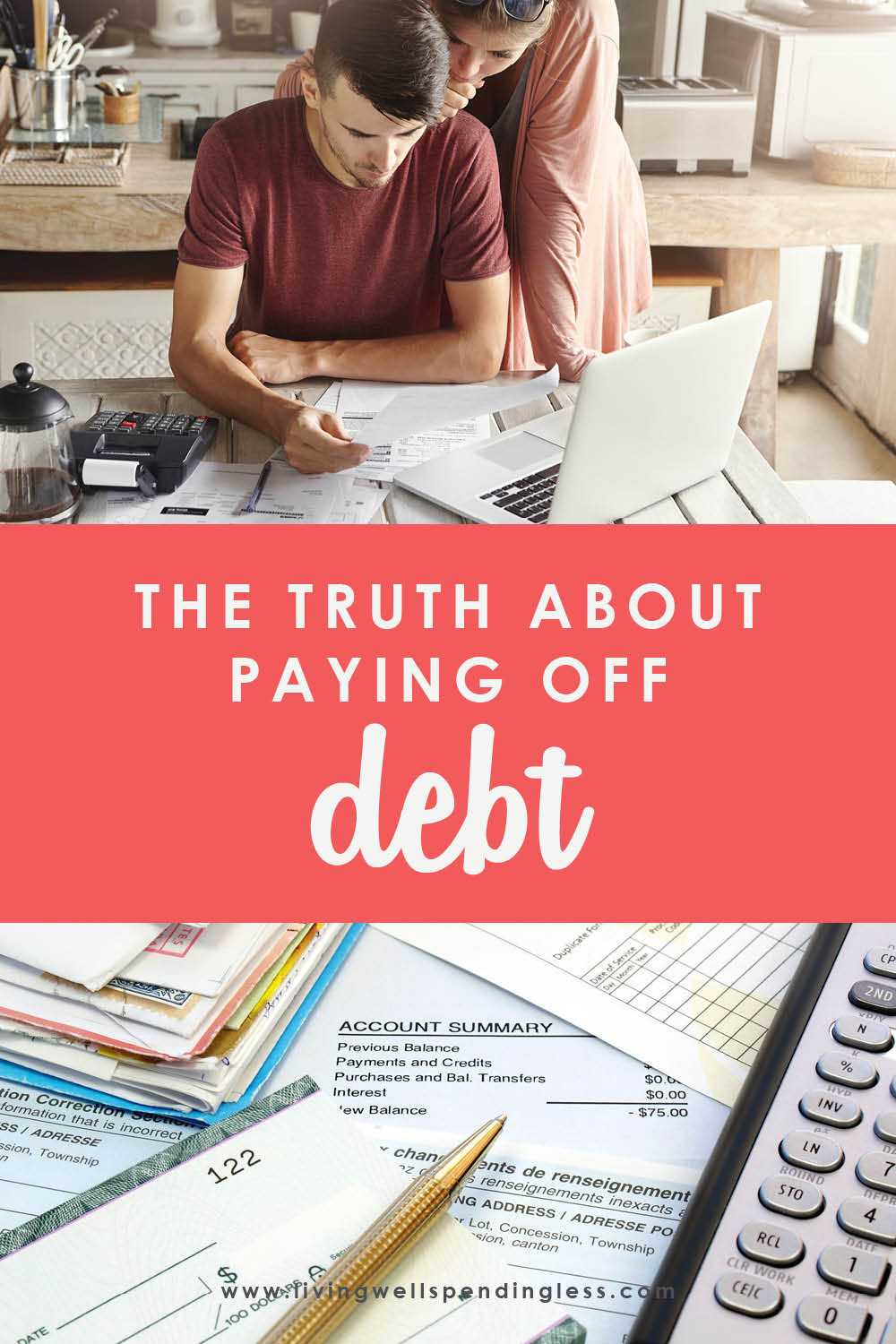 Paying off debt can be hard! If you've been feeling weary, don't miss these helpful insights on learning to navigate the good, the bad and the ugly. #payingoffdebt #payoffdebt #debtfreeliving #debtfree #budgeting #budgettips #moneysavingtips #savingmoney