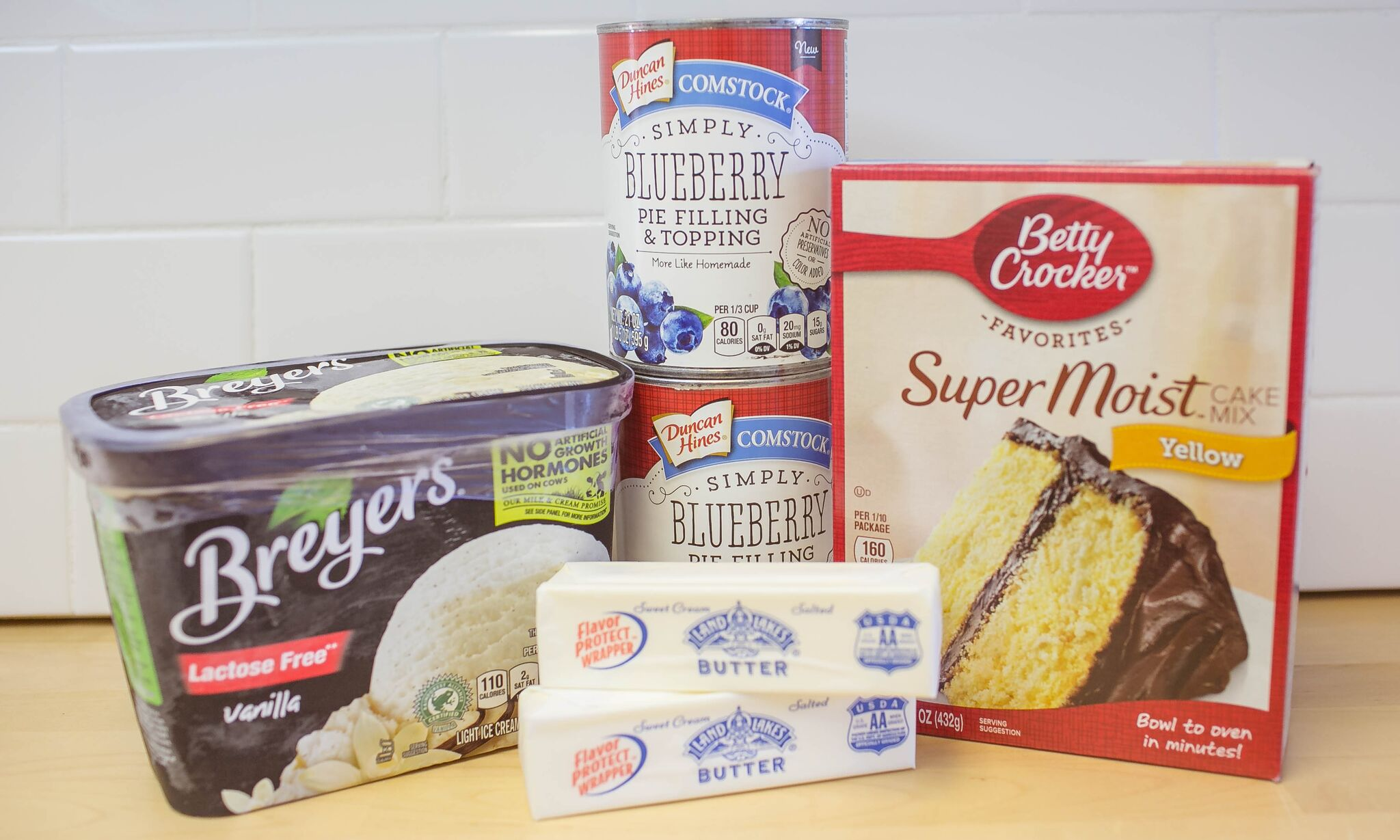 Easy Blueberry Bake | 4 Ingredient Dessert | Food Made Simple | Blueberry Dessert Recipe | Summer Desserts