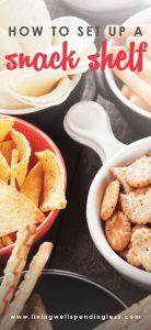 Snack Shelf | Healthy Kids Snacks | Snacks for Kids | How to Set Up a Snack Shelf | Healthy Grab-and-Go Snacks for Kids