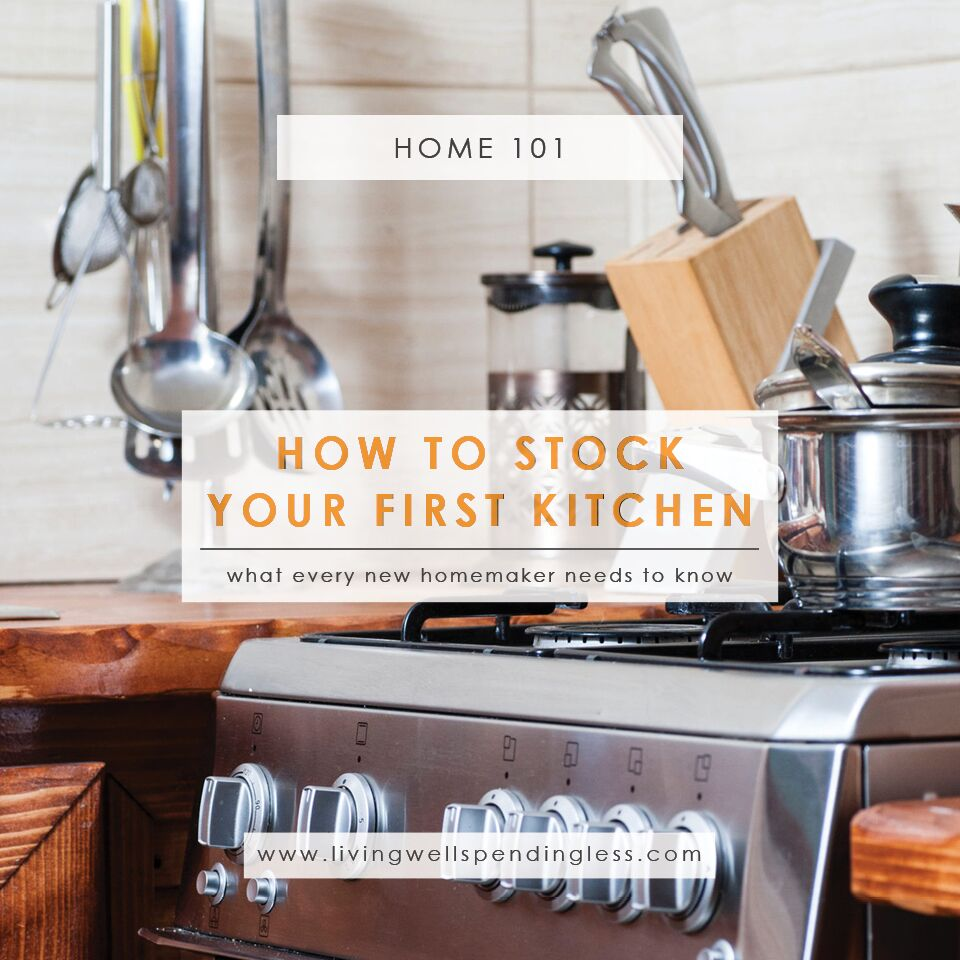 Kitchen Basics | Life Tips | How To Set Up A Kitchen | First Kitchen Must