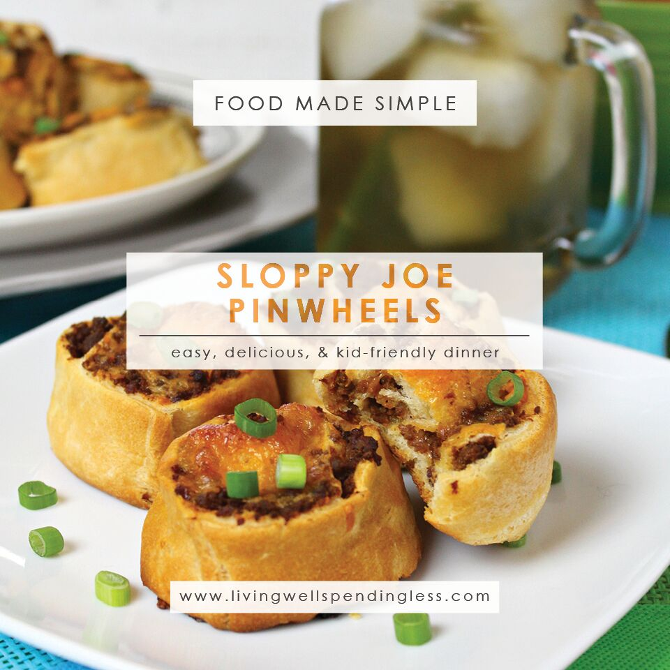 Sloppy joe pinwheels easy 30 minute dinner kid friendly recipe sloppy joe pinwheels easy dinner pinwheels kid friendly foods simple dinner recipe forumfinder Choice Image