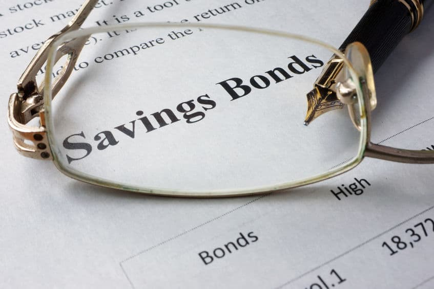 Savings bonds are great for saving money.