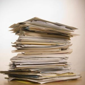 Banish Your Paper Piles | Prioritizing Paperwork | Controlling Paper Clutter | Organizing Tips | Declutter Your Home File Cabinet | Office Papers Decluttered