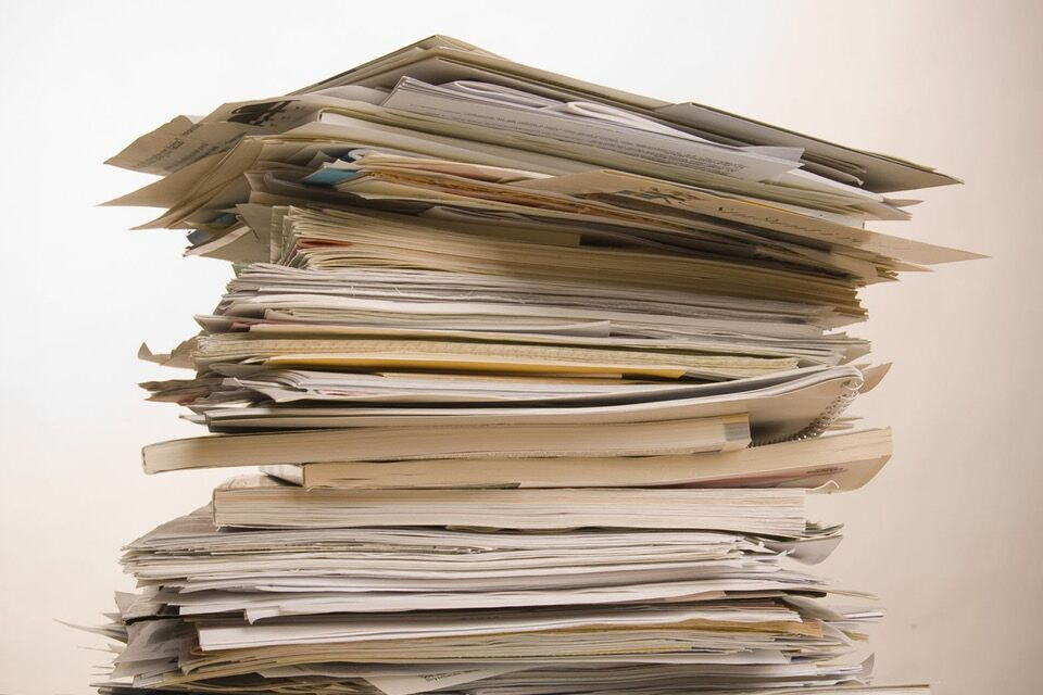 How to Banish Your Paper Piles For Good