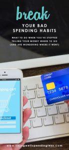 Break Your Bad Spending Habits | When BAD Spending Habits Start Again | Control Impulse Spending | 5 Tips to Reign in Your Spending | Take Control Of Your Finances | Smart Money