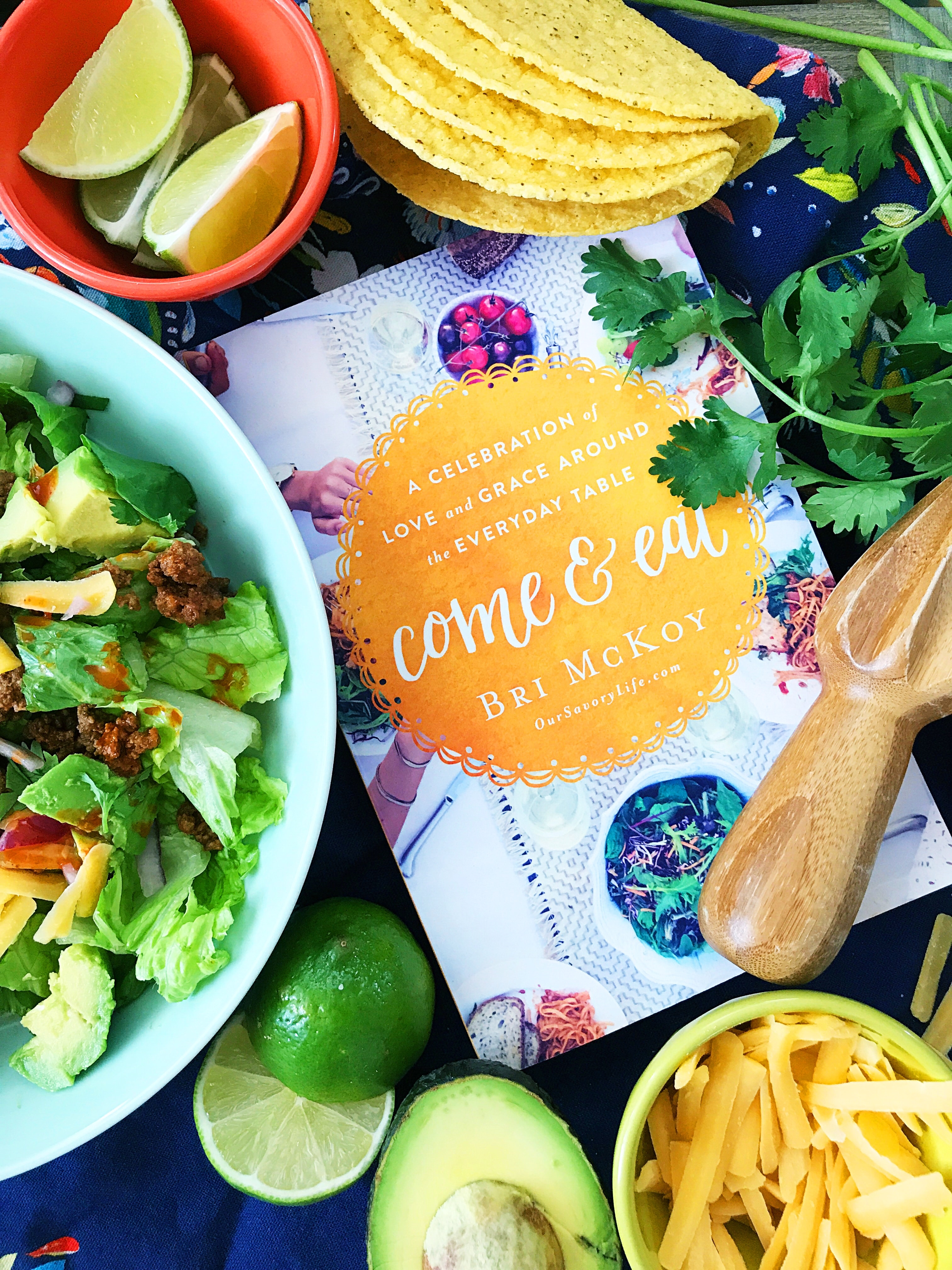 Get family back to the table with help from Come and Eat by Bri McKoy!